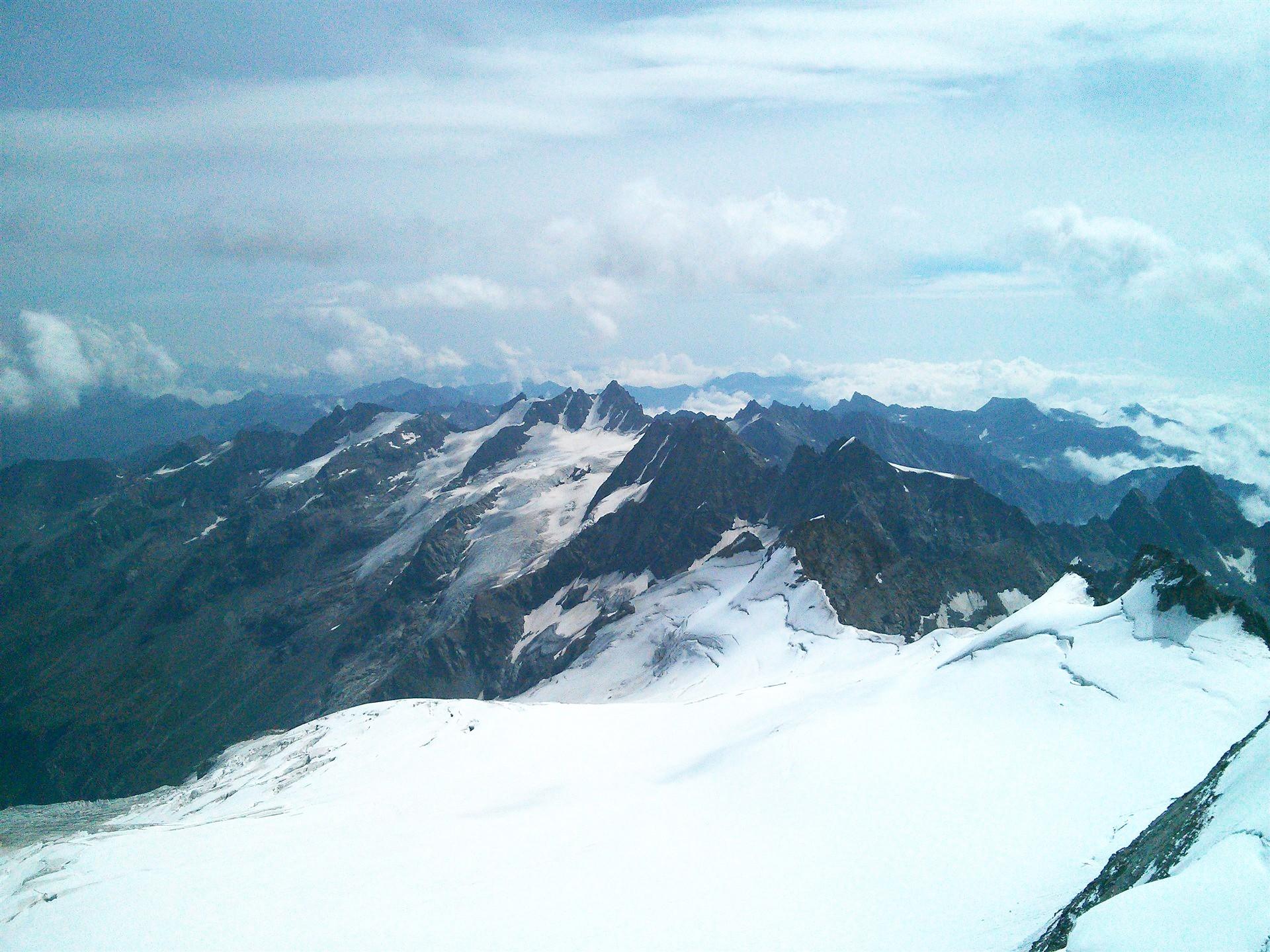 Pogled s vrha Gran Paradiso