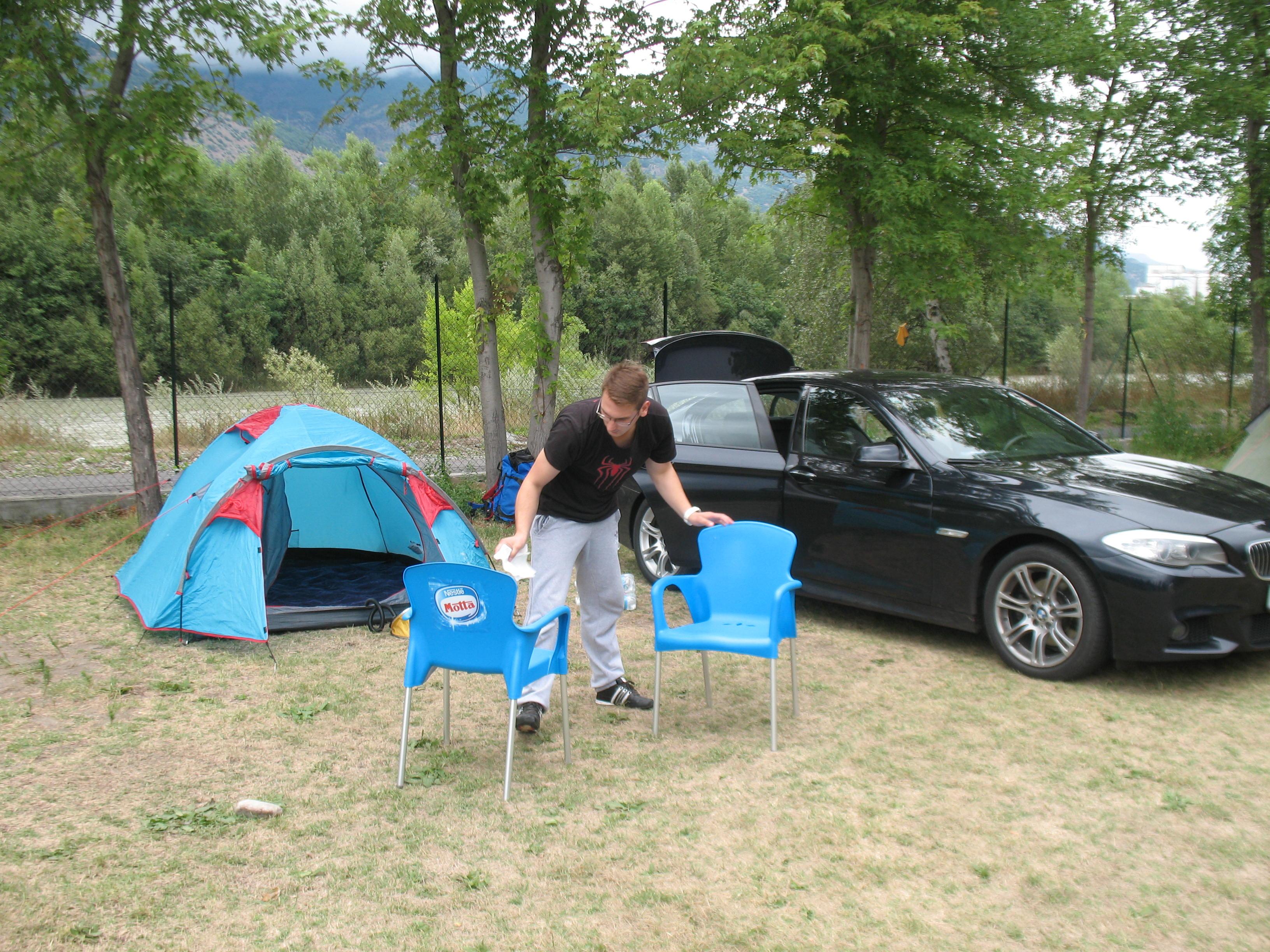 Čerga u kampu