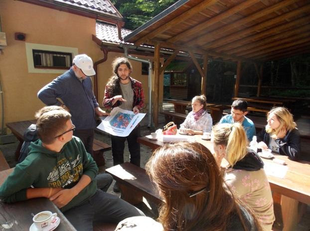 Predavanje o Vražjem prolazu (foto:Miklos Rita)