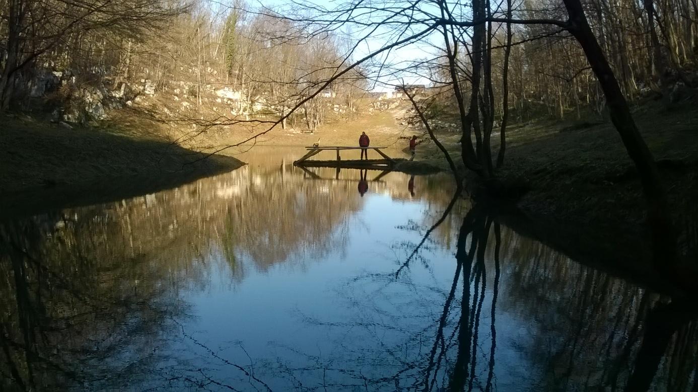 Na Šmitovom jezeru (foto: Tomislav Kurečić)