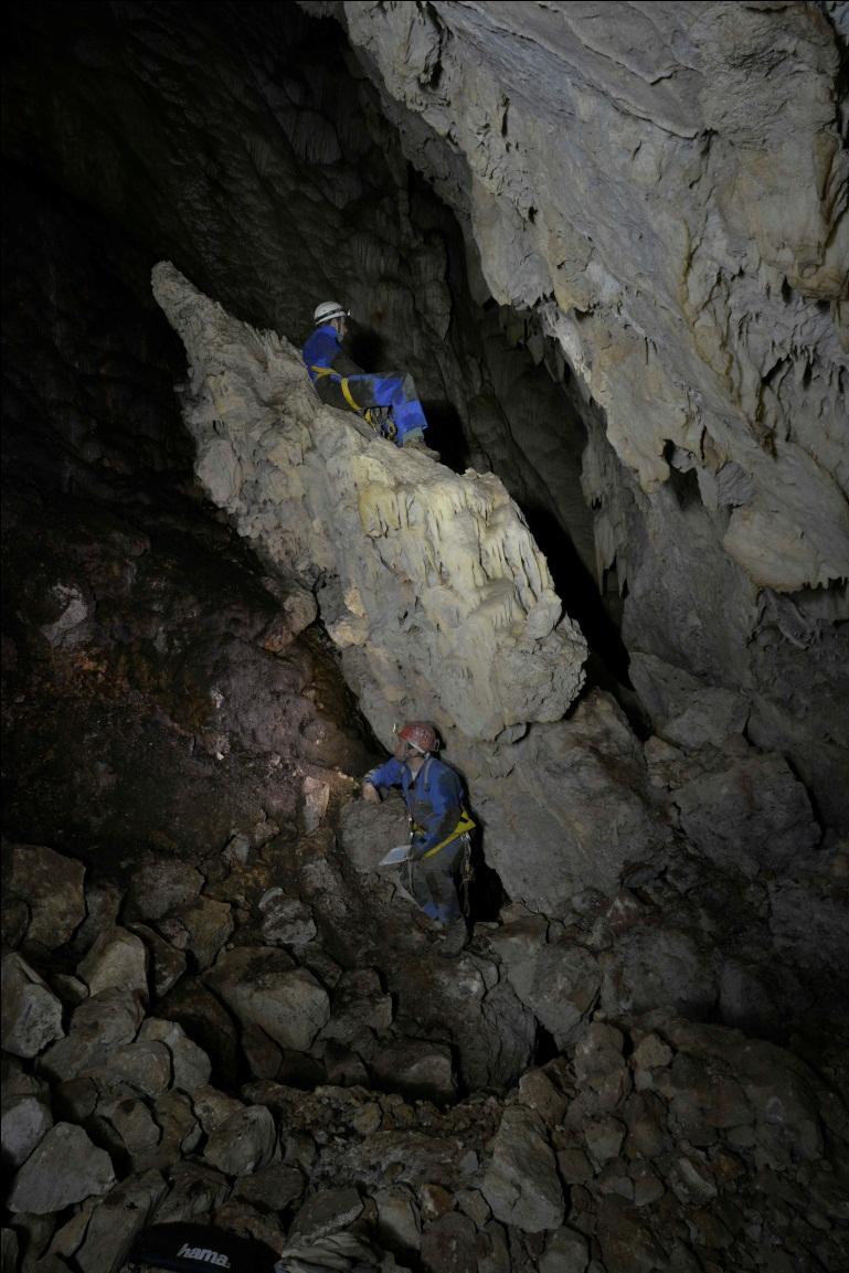 Velika dvorana na dnu jame (autor: Vedran Jalžić)