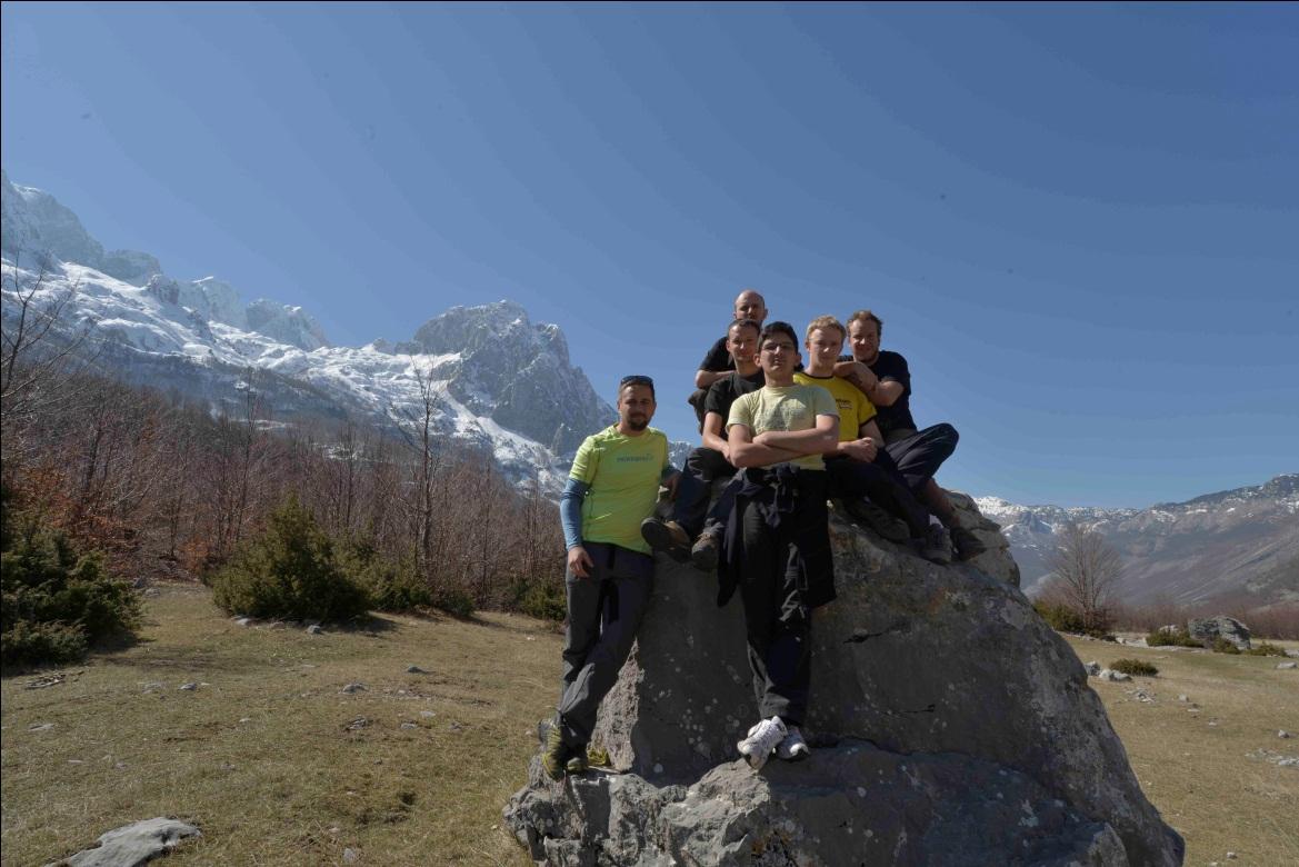 Članovi ekspedicije u Nacionalnom parku Thethi (autor: Vedran Jalžić)