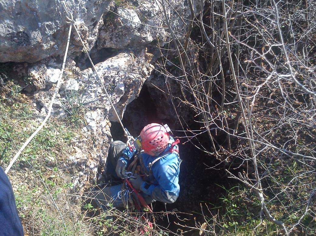 Ulaz u jamu Šćipi (autor: Filip Prelec)