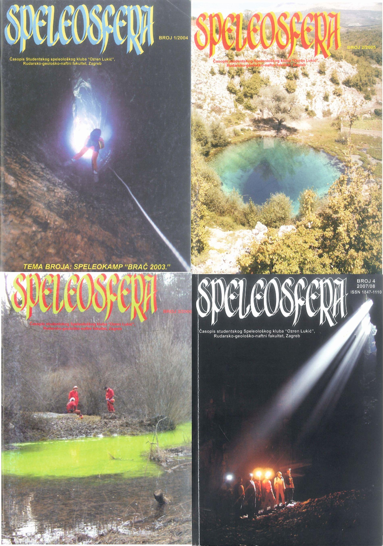 Naslovnice Speleosfera