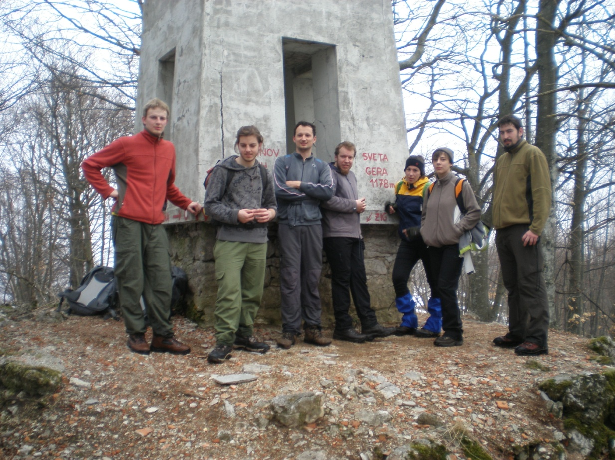 Oduševljenje na vrhu  (foto:Danijel Stanić)