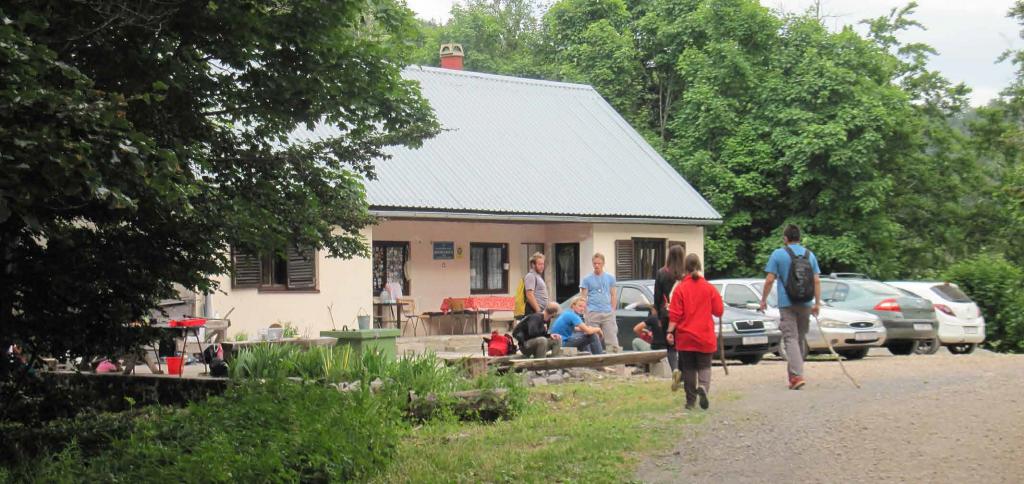 Pogled na Kuginu kuću (foto: Vedrana Alilović)