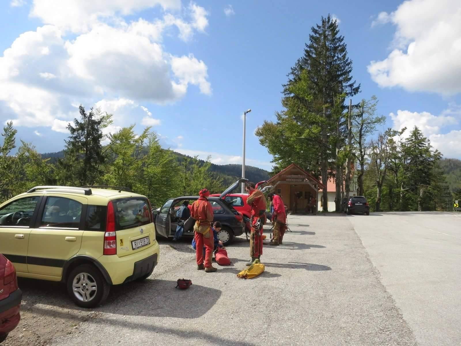 spremanje ispred turističkog centra (foto: Lovel Kukuljan)