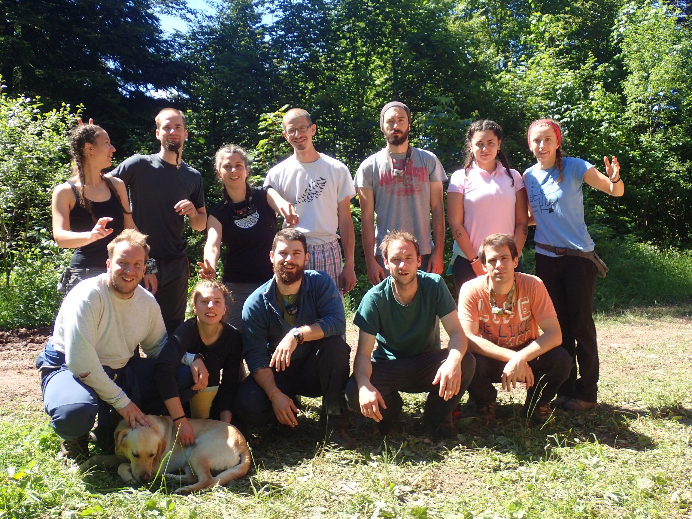 ekipa prvog dijela ekspedicije (foto: Nina Trinajstić)