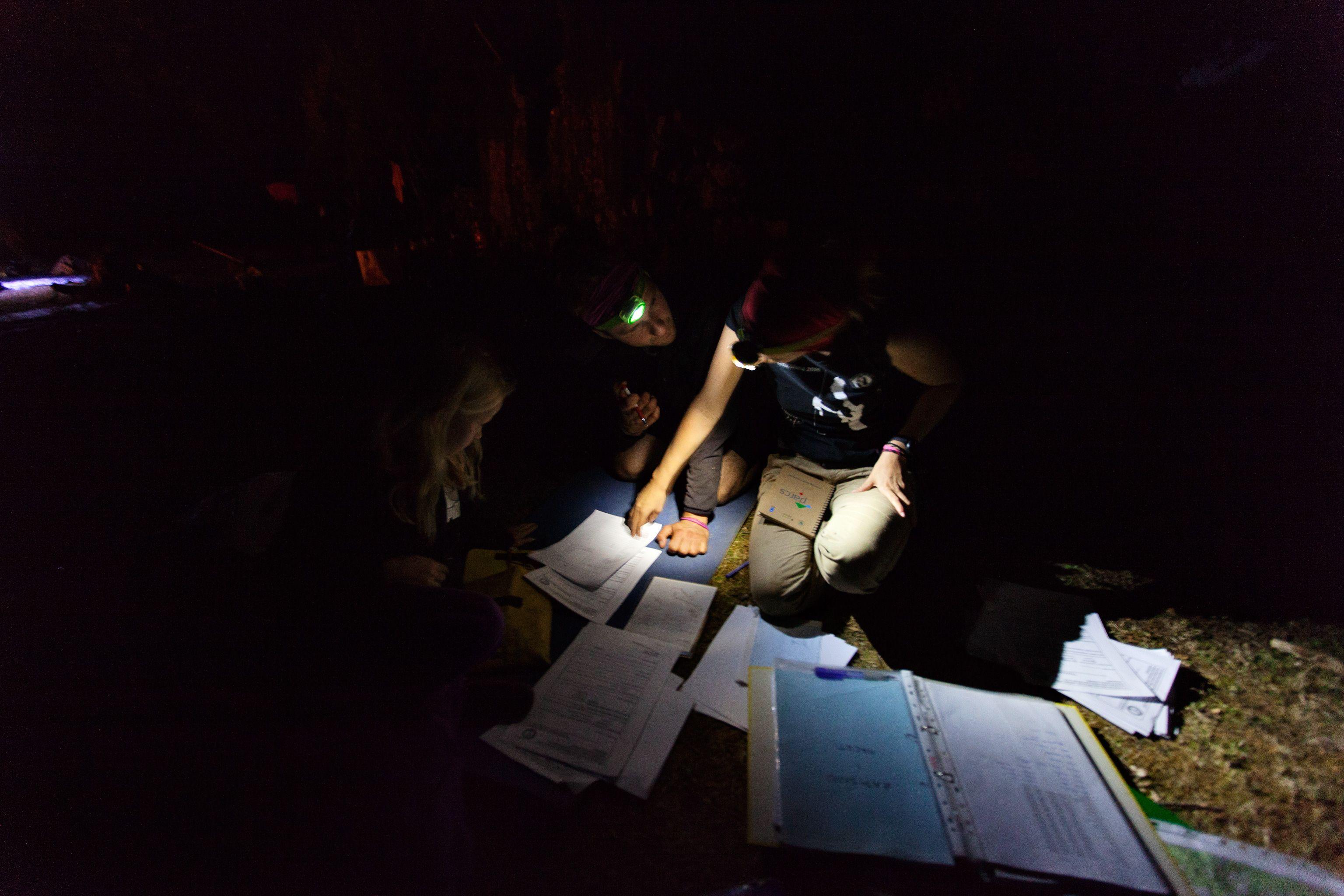 Ispunjavanje zapisnika i izvještaje (foto: G.Kervina)